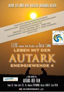 FILM UND GENOSSENSCHAFTSABEND AUTARK – LEBEN MIT DER ENERGIEWENDE @ Glockenhaus
